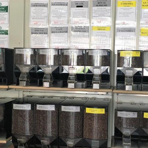 Wall of Beans circa 2015