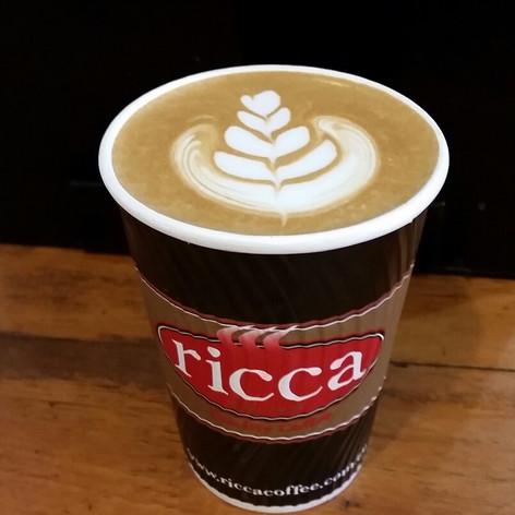 2000s Ricca takeaway coffee cup