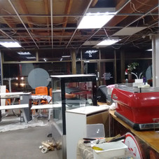 Cafe repaint Sept 2018