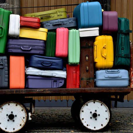 Pack it and Stash It!  Luggage Storage Options When Arriving Early or Staying Late on Check out Day.