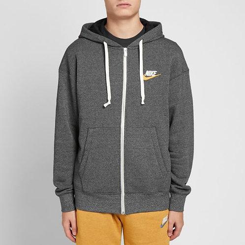 Nike Heritage Full Zip Hoodie (Dark Grey)