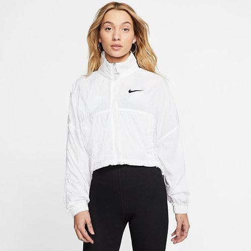 Nike Sportswear Swoosh Woven Jacket (White/Black)