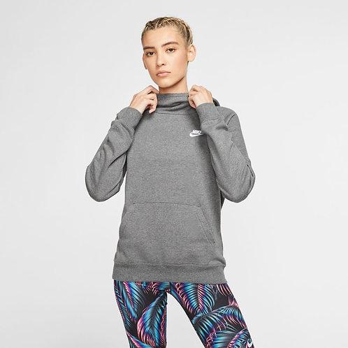 Nike Sportswear Essential Hoodie (Dark Grey/White)