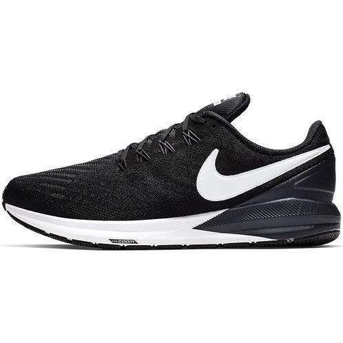 Nike Air Zoom Structure 22 4E (Black/White-Gridiron)