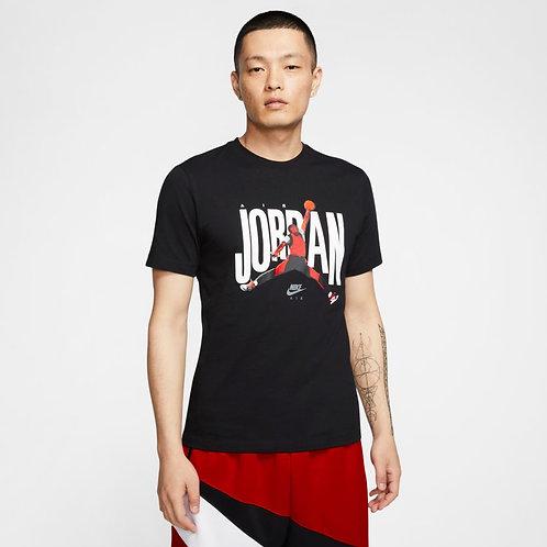 Air Jordan Short Sleeve Tee (Black/Multi)
