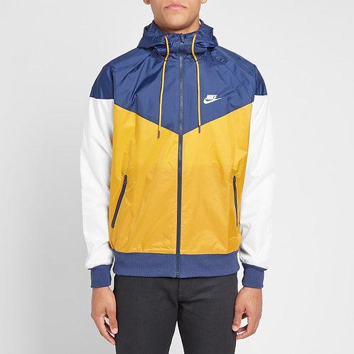 Nike Windrunner Jacket (Gold/Navy/White)