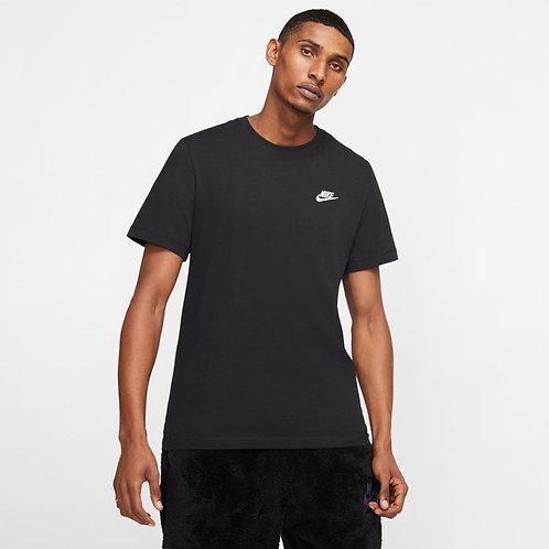 Nike Sportswear Club Tee (Black/White)
