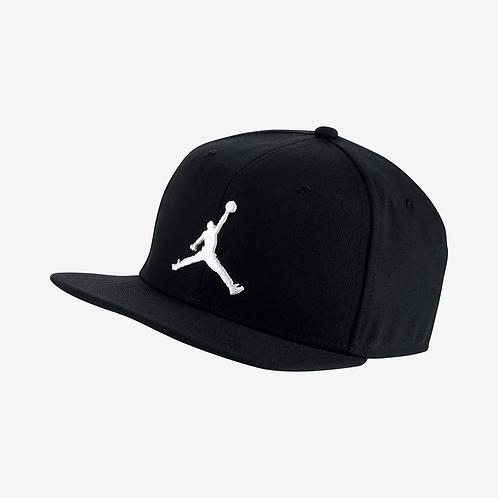 Air Jordan Pro Jumpman Snapback (Black/White)