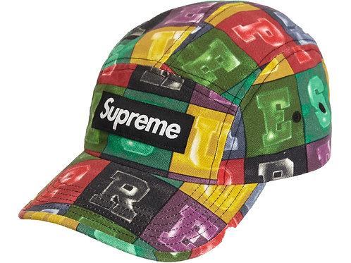 Supreme Block Camp Cap (Multi/Multi)