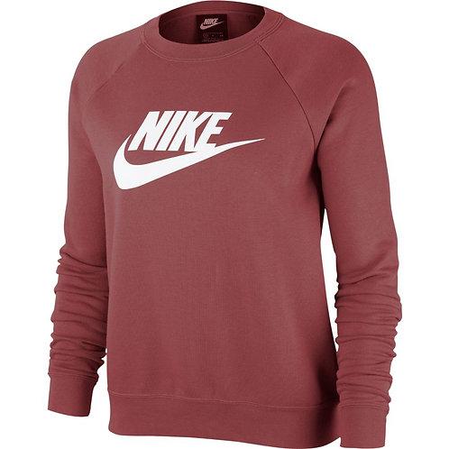 Nike Essential Fleece Crew (Cedar/White)