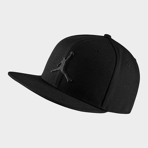 Air Jordan Pro Jumpman Snapback (Black/Black)