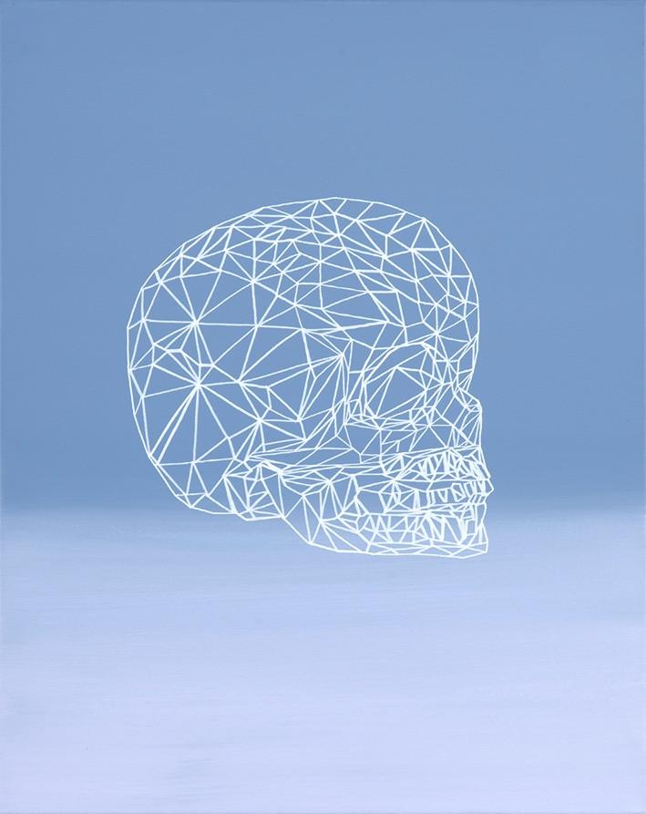 Child Skull, 40 x 50 cm, 2016