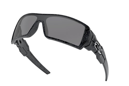 Oakley Oil Rig (Polished Black/Silver Ghost Text/Black)
