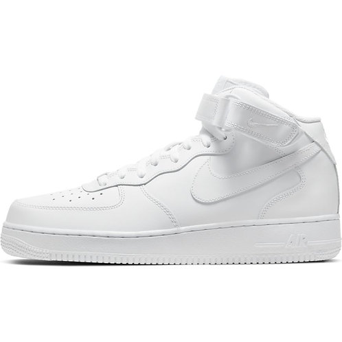 Nike Air Force 1 Mid (White/White)