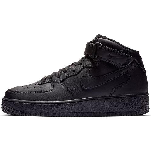 Nike Air Force 1 Mid (Black/Black)