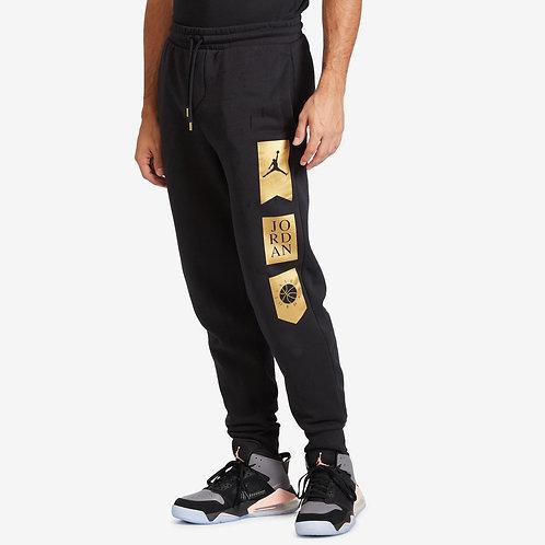 Air Jordan Remastered HBR Pant (Black/Gold)
