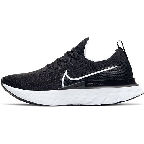 Nike React Infinity Run Flyknit (Black/White-Dark Grey)
