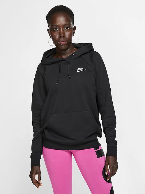 Nike Essential Fleece Hoodie (Black/White)