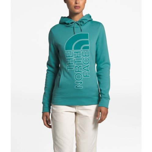 The North Face Trivert Patch Pullover Hoodie (Blue)