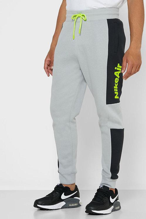 Nike NSW Air Fleece Pant (Grey/Volt/Black)