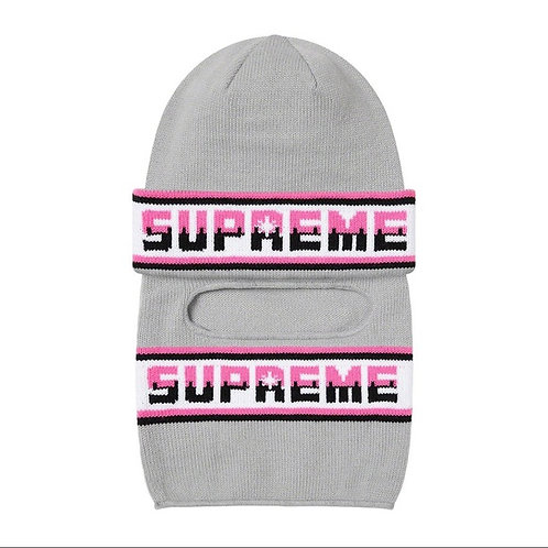 Supreme Double Logo Facemask Beanie