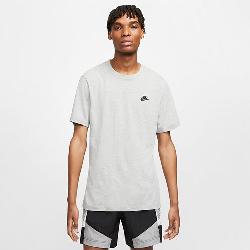 Nike Sportswear Club Tee (Grey/Black)