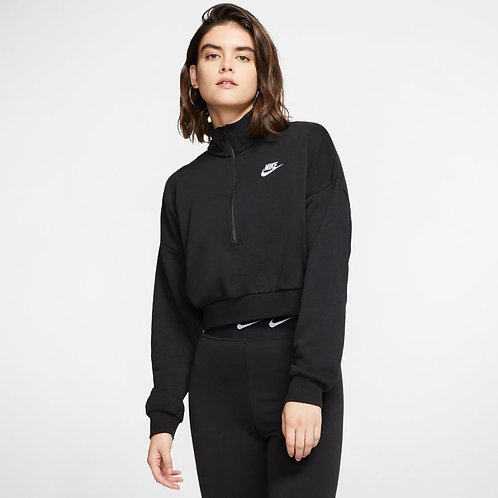 Nike Sportswear Essential Long Sleeve (Black/White)