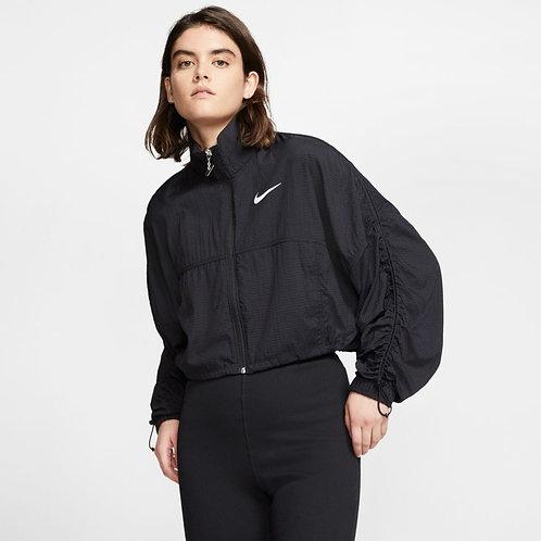 Nike Sportswear Swoosh Woven Jacket (Black/White)