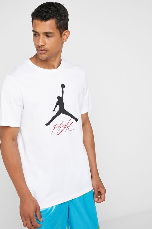 Air Jordan Jumpman Flight HBR Tee (White)