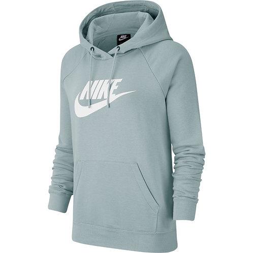 Nike Essential Fleece Hoodie (Ocean Cube/White)