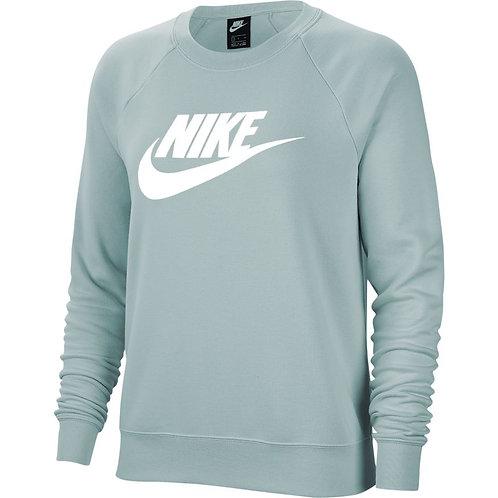 Nike Essential Club Fleece Crew (Ocean Cube/White)