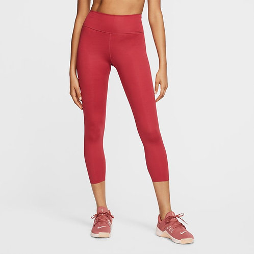 Nike One Luxe Tight (Worn Brick/Clear)