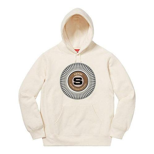 Supreme Chenille Applique Sweatshirt (Creme)