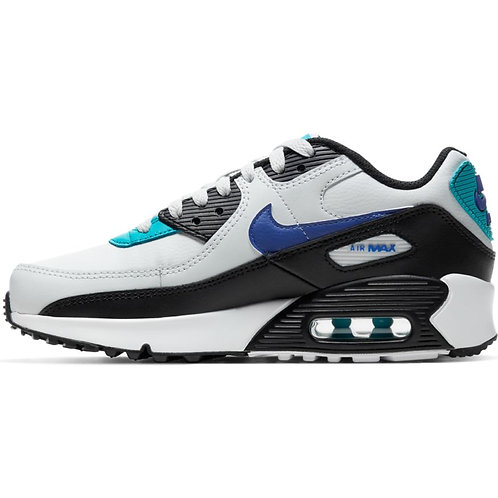 NIke Air Max 90 LTR (White/Black/Blue/Turquoise)