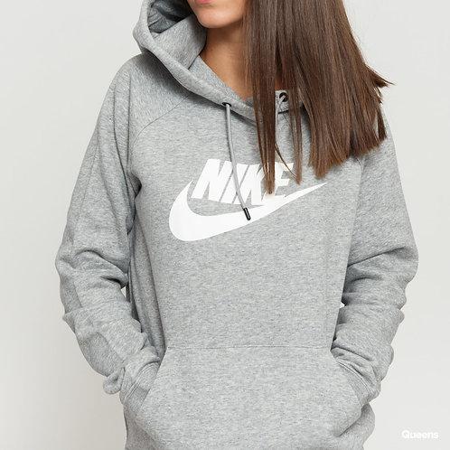 Nike Essential Fleece Hoodie (Grey/White)