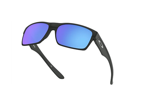 Oakley Twoface Polarized (Matte Black/Sapphire Iridium)