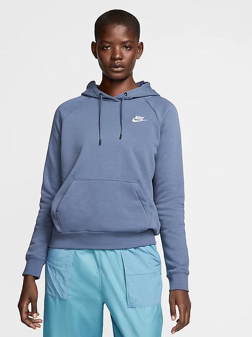 Nike Essential Fleece Hoodie (Diffused Blue/White)