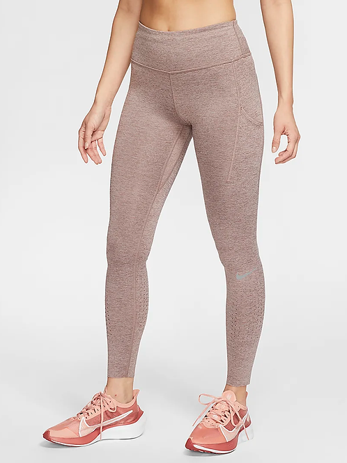 Nike Epic Luxe Tight (Mauve/Silver)