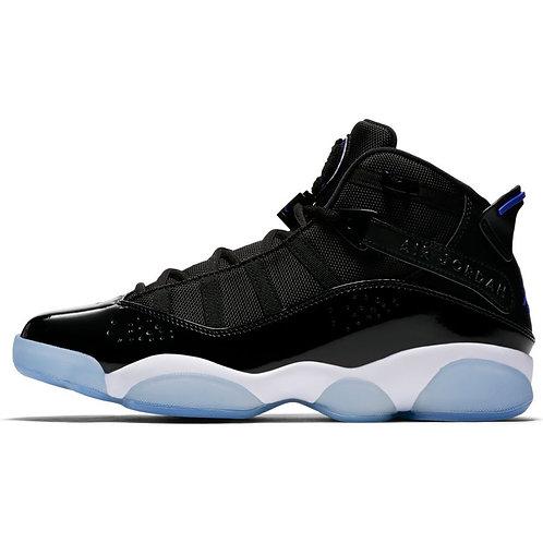 Jordan 6 Rings (Black/Hyper Royal-White)
