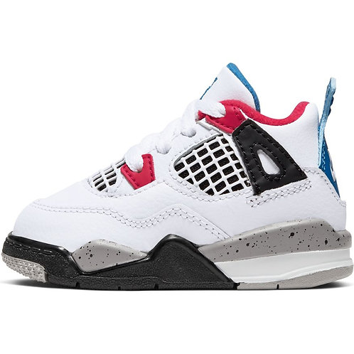 Air Jordan Retro 4 Toddler (Gym Red/Obsidian-White)