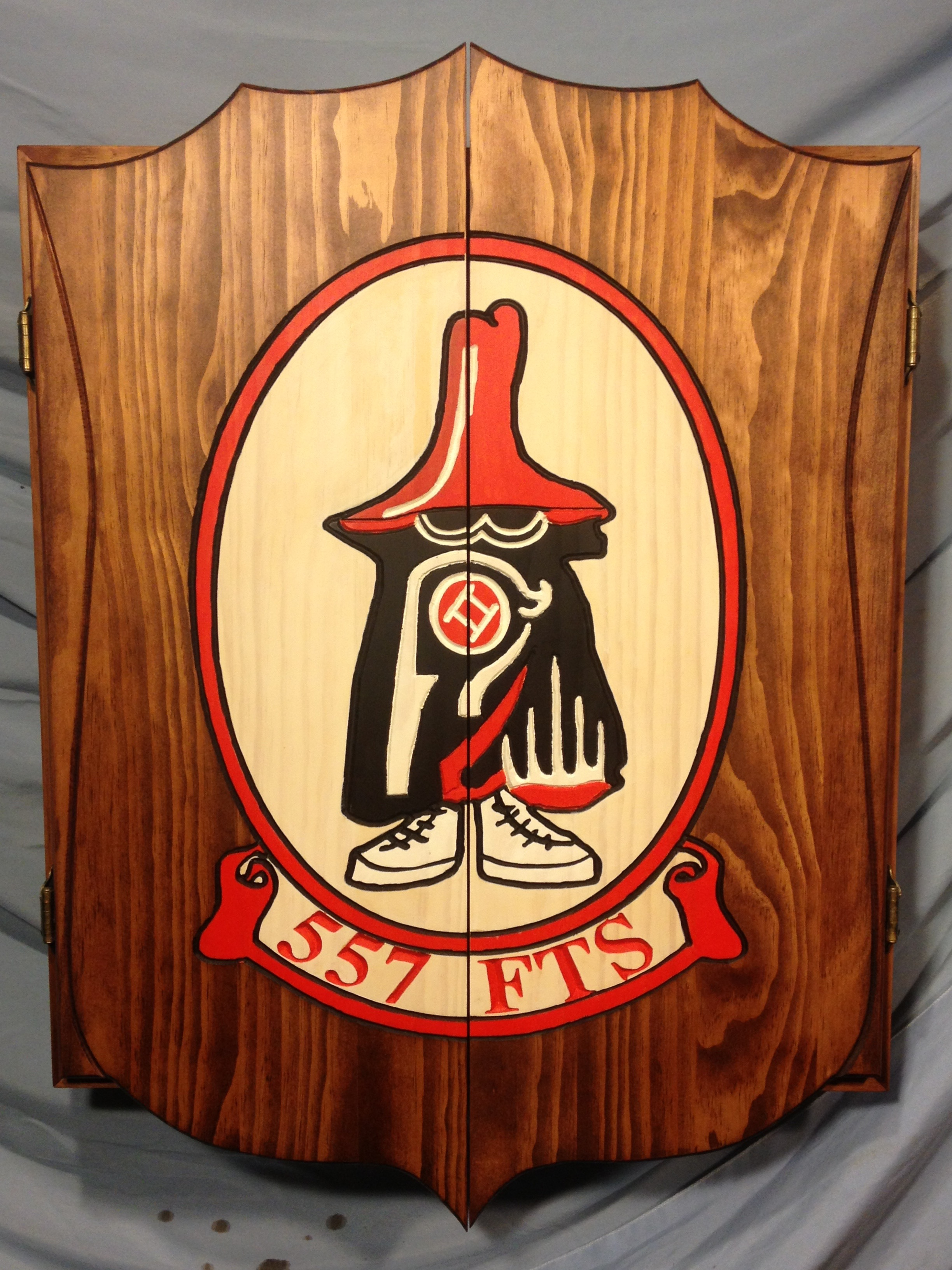 Pine Dart Cabinet 557 FTS