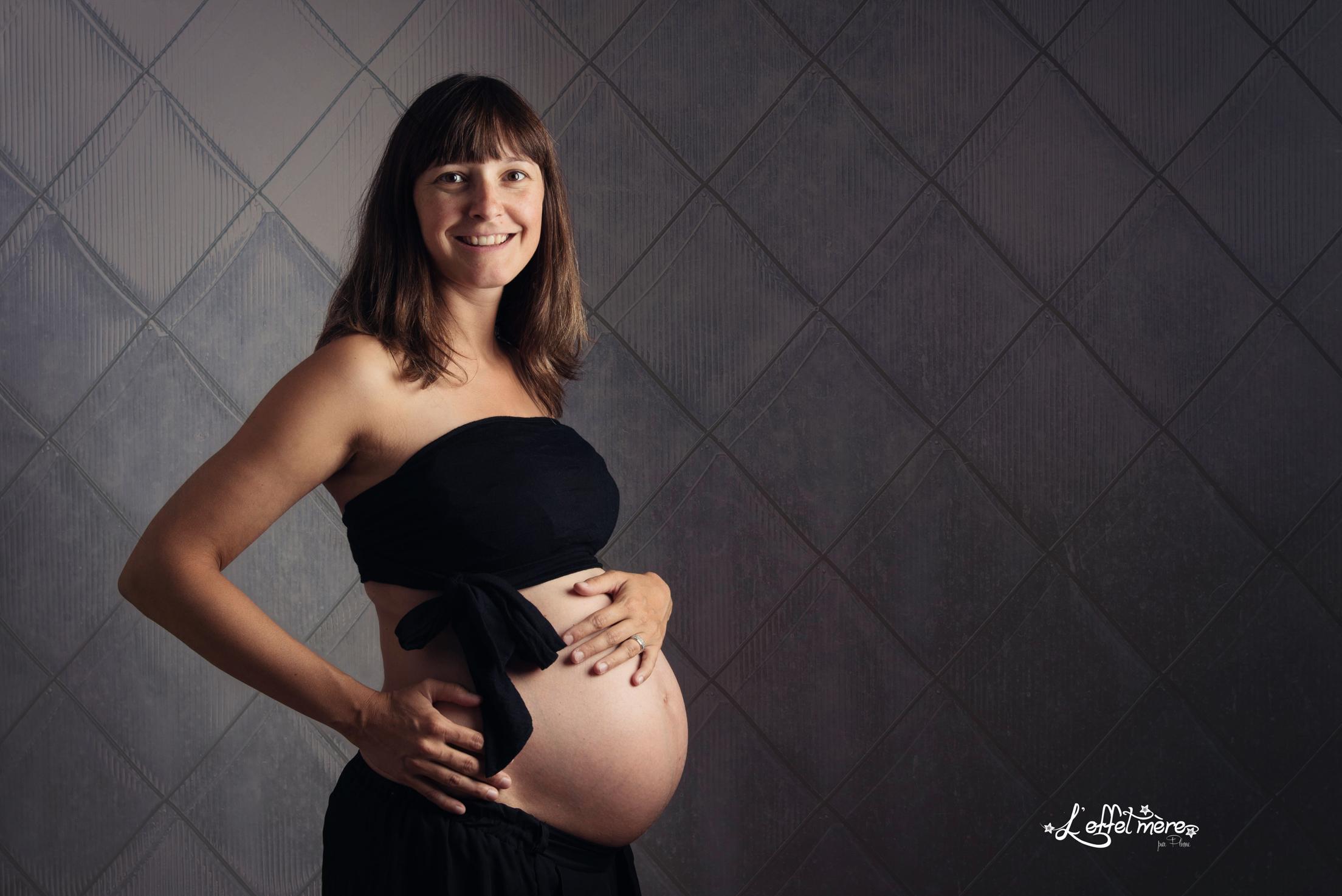 Séance grossesse par l'effet mère