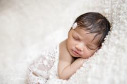 Séance bébé par l'effet mère