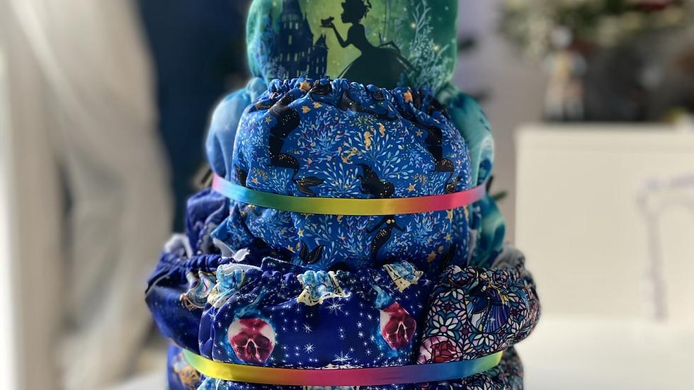 Gâteau de couches «Petite princesse»