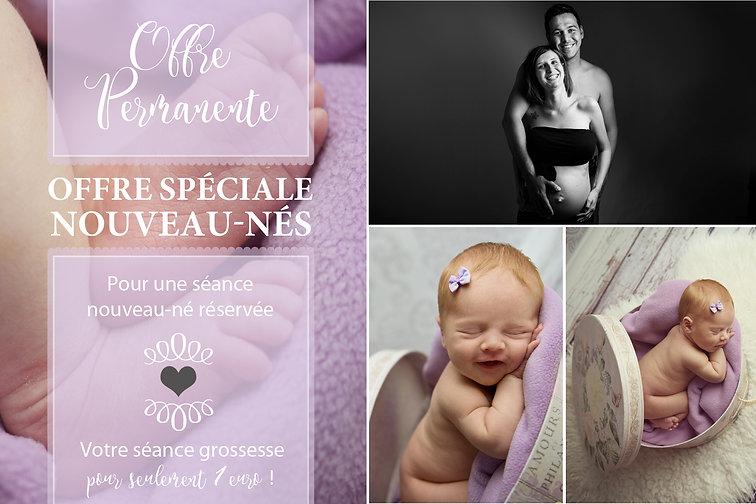 Offre photographe nouveau-né