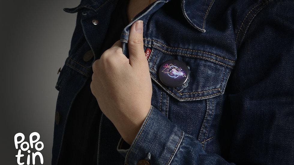 """Badge """"Dolorean"""""""
