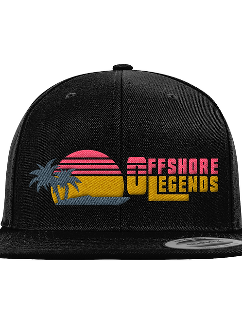 Offshore Legends Embroidered Snapback