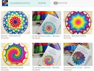 Receitas ColoridoEcletico agora disponíveis para venda