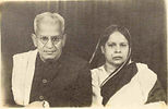 Bireswar Sen's parents -  Rai Bahadur Saileswar Sen and Niharnalini Sen