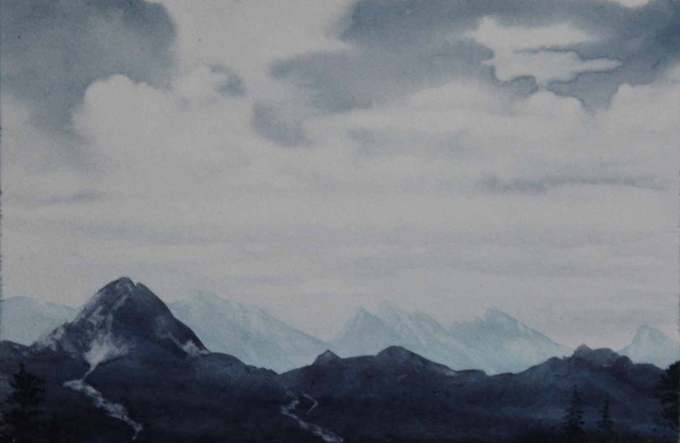 Distant Peaks, Jamunotri